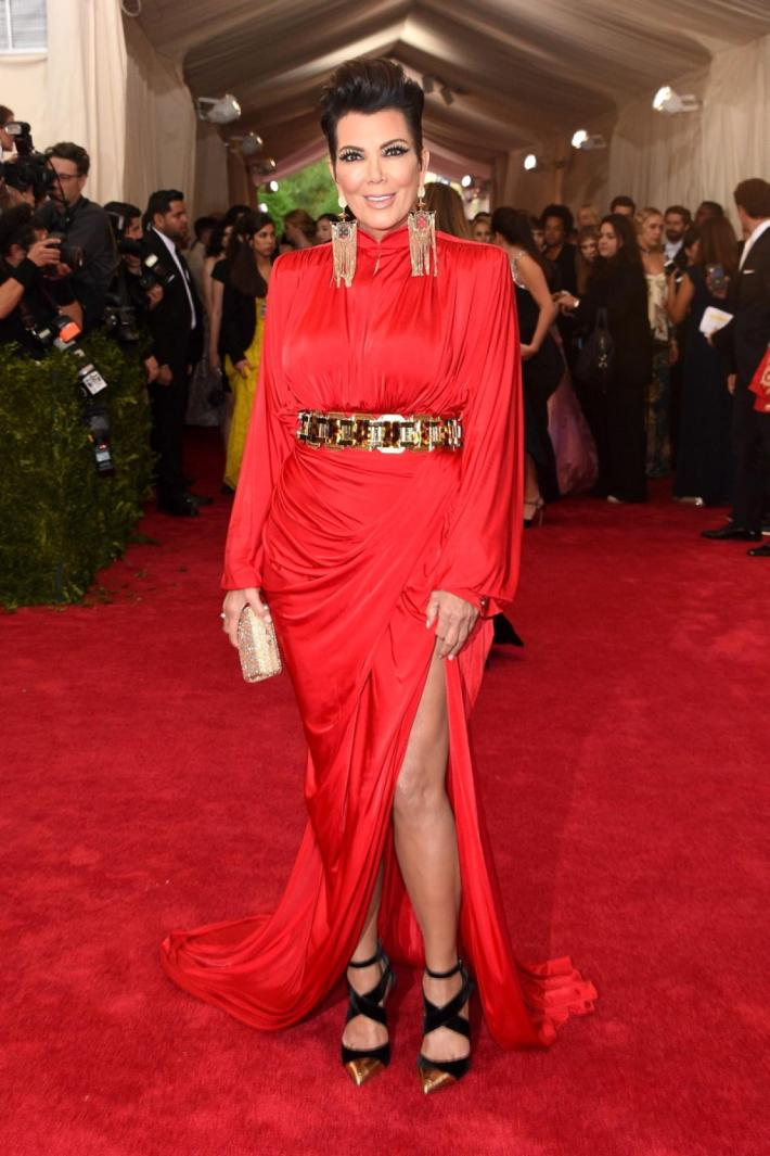 Kris Jenner attends the 'China: Through The Looking Glass' Costume Institute Benefit Gala at Metropolitan Museum of Ar