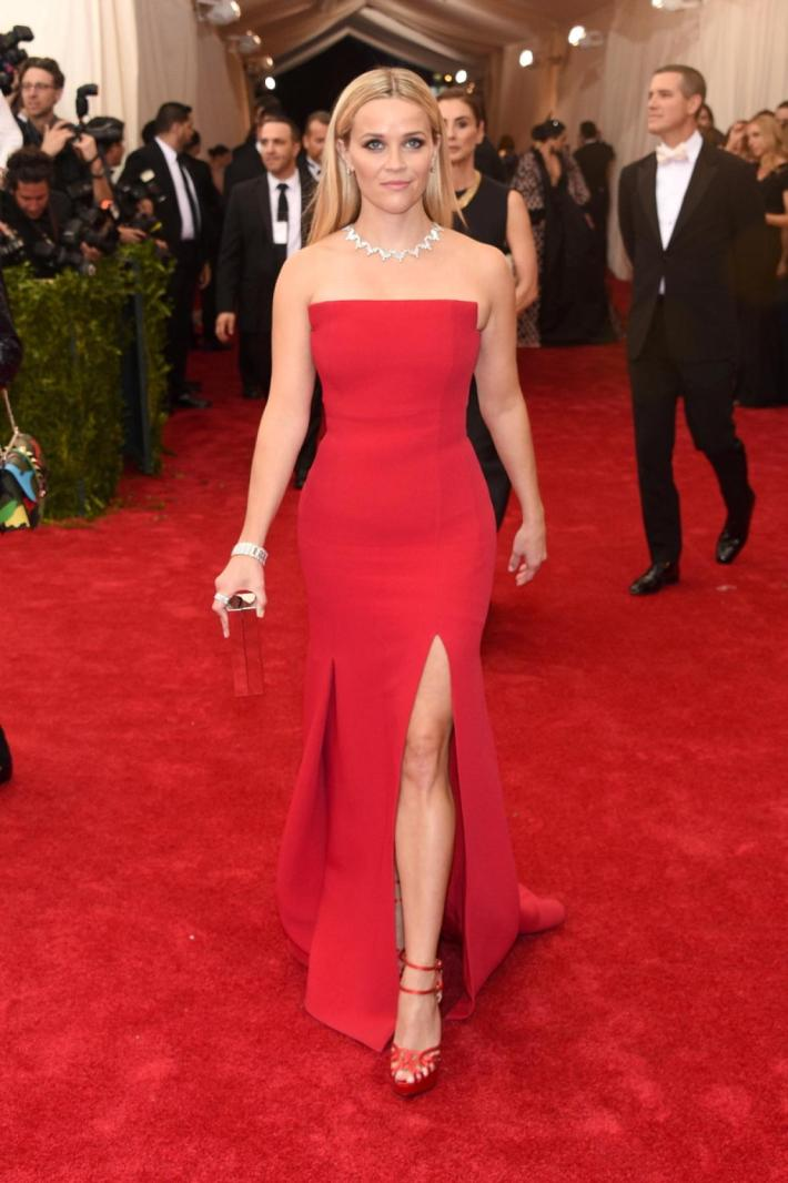 Reese Witherspoon attends the 'China: Through The Looking Glass' Costume Institute Benefit Gala at Metropolitan Museum of Art