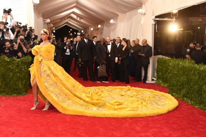 Rihanna attends the 'China: Through The Looking Glass' Costume Institute Benefit Gala at Metropolitan Museum of Art