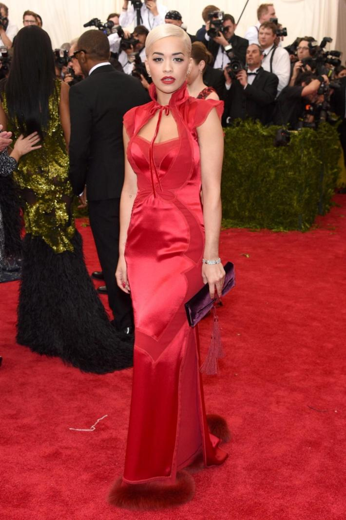 Rita Ora attends the 'China: Through The Looking Glass' Costume Institute Benefit Gala at Metropolitan Museum of Art