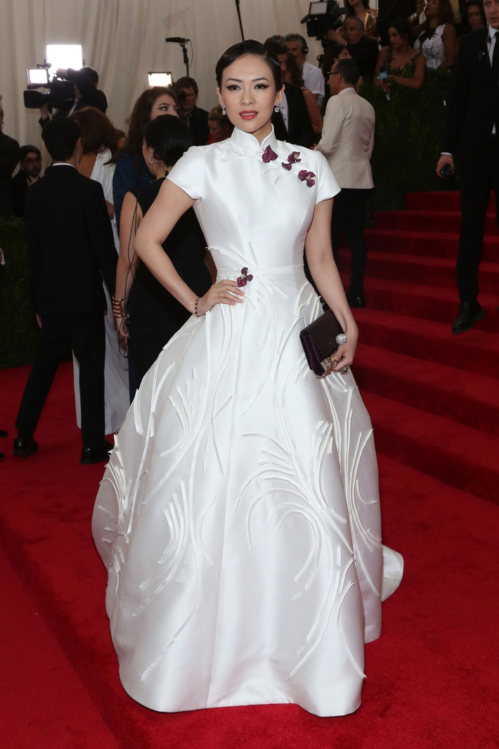 Zhang Ziyi attends the 'China: Through The Looking Glass' Costume Institute Benefit Gala at Metropolitan Museum of Art