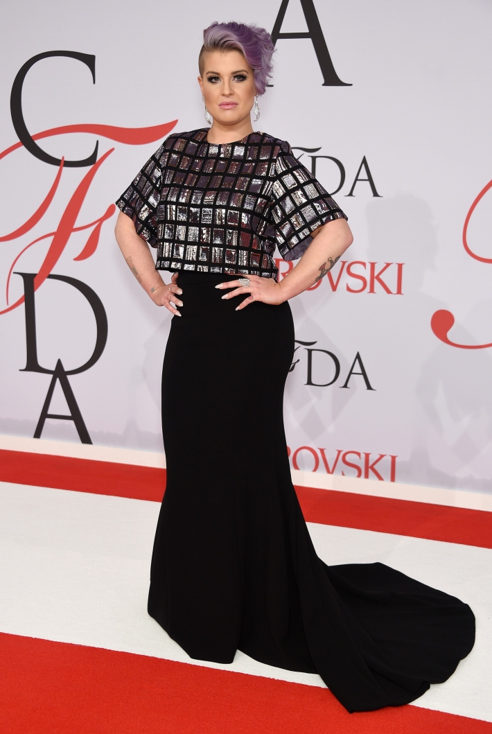 Kelly Osbourne attends the 2015 CFDA Fashion Awards at Alice Tully Hall at Lincoln Center