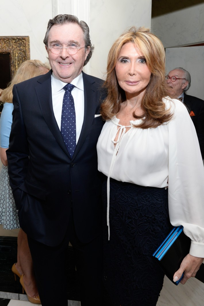 Bill Sclight, Cheri Kaufman attend French Heritage Society Pre-Summer Solstice Cocktails Hosted by Jean Shafiroff  (Photo by Presley Ann)