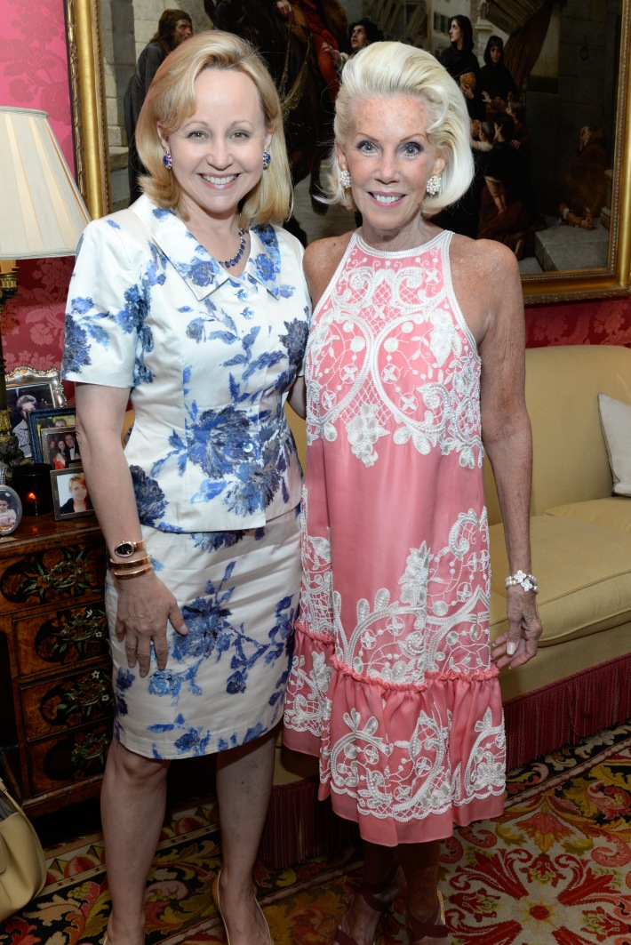 Deborah Royce, CeCe Black attend French Heritage Society Pre-Summer Solstice Cocktails Hosted by Jean Shafiroff  (Photo by Presley Ann)