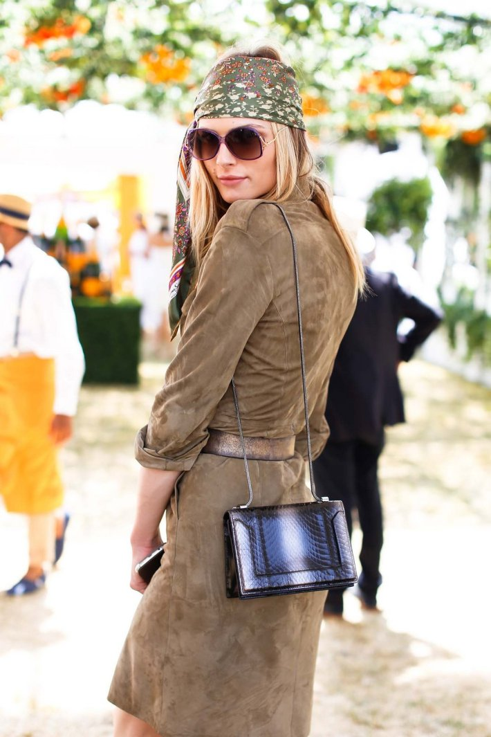 Andreja Pejic attends the Eighth-Annual Veuve Clicquot Polo Classic at Liberty State Park