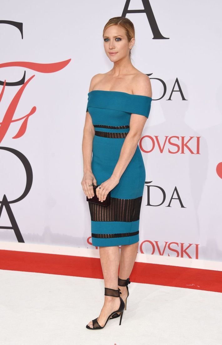 Brittany Snow attends the 2015 CFDA Fashion Awards at Alice Tully Hall at Lincoln Center