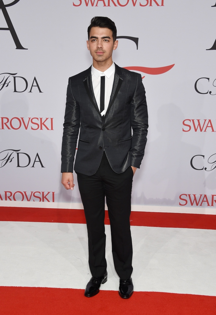 Joe Jonas attends the 2015 CFDA Fashion Awards at Alice Tully Hall at Lincoln Center