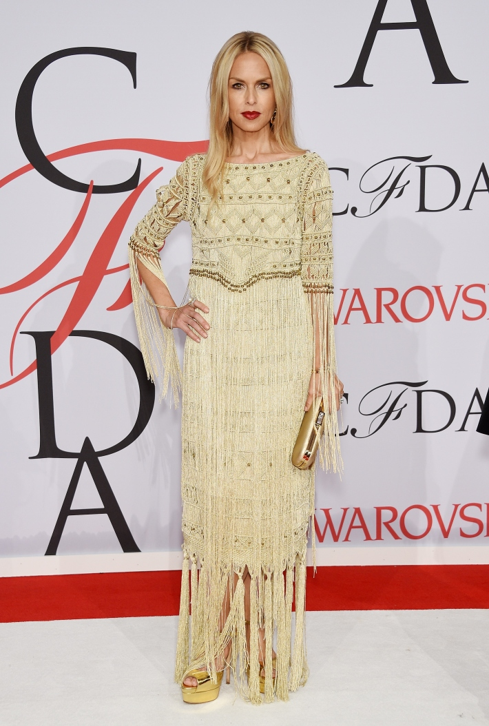 Rachel Zoe attends the 2015 CFDA Fashion Awards at Alice Tully Hall at Lincoln Center