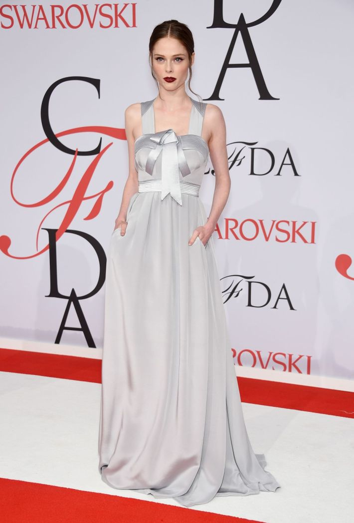 Coco Rocha attends the 2015 CFDA Fashion Awards at Alice Tully Hall at Lincoln Center