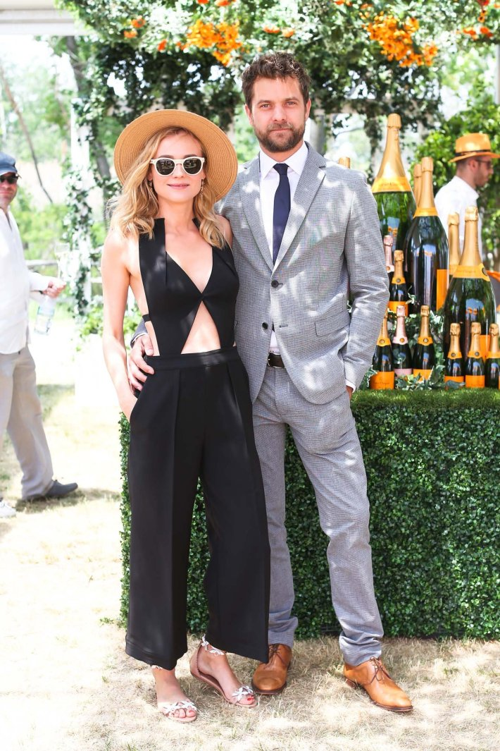 Joshua Jackson and Diane Kruger attend the Eighth-Annual Veuve Clicquot Polo Classic at Liberty State Park