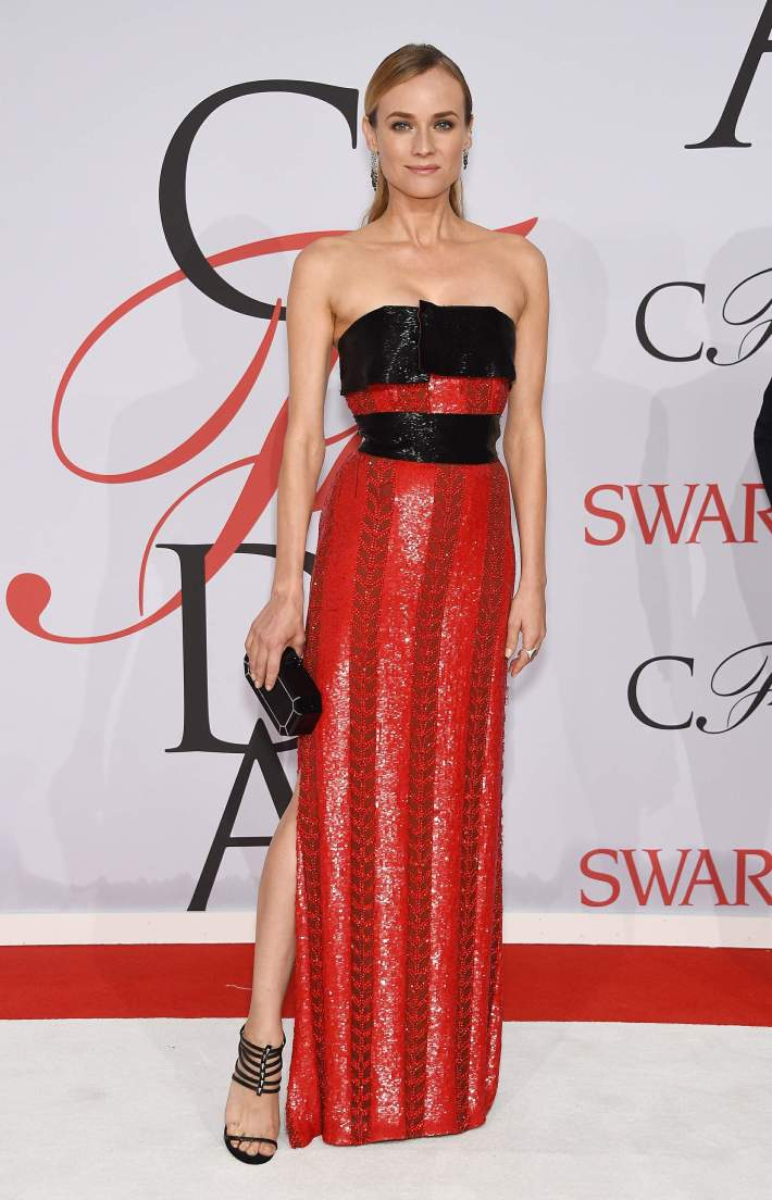 Diane Kruger attends the 2015 CFDA Fashion Awards at Alice Tully Hall at Lincoln Center