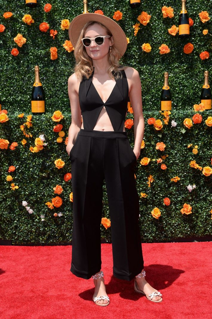 Diane Kruger attend the Eighth-Annual Veuve Clicquot Polo Classic at Liberty State Park