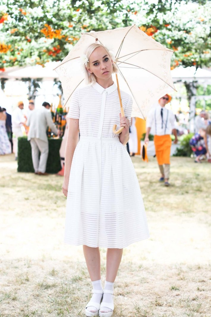 Margot attends the Eighth-Annual Veuve Clicquot Polo Classic at Liberty State Park