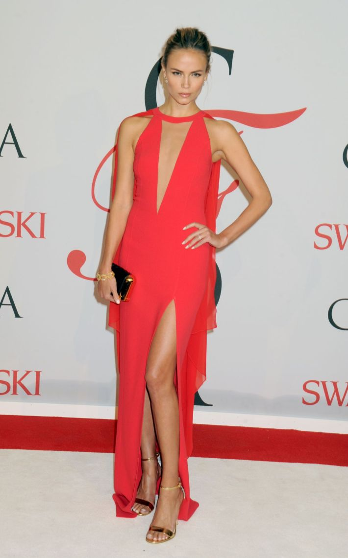 Natasha Poly attends the 2015 CFDA Fashion Awards at Alice Tully Hall at Lincoln Center