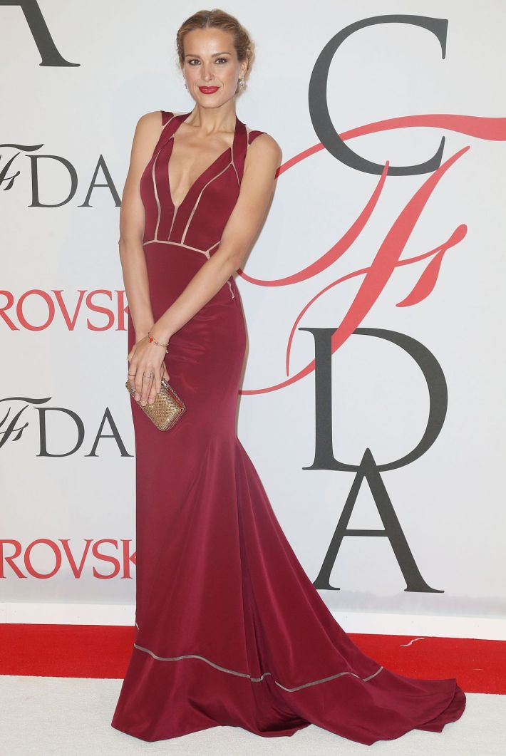 Petra Nemcova attends the 2015 CFDA Fashion Awards at Alice Tully Hall at Lincoln Center