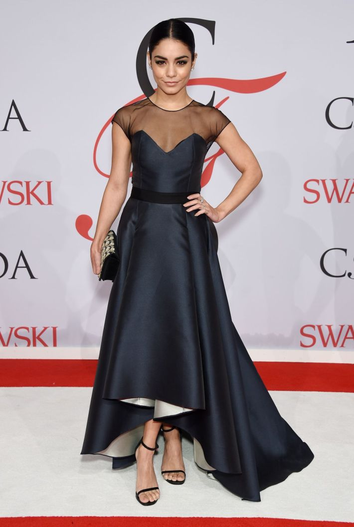 Vanessa Hudgens attends the 2015 CFDA Fashion Awards at Alice Tully Hall at Lincoln Center