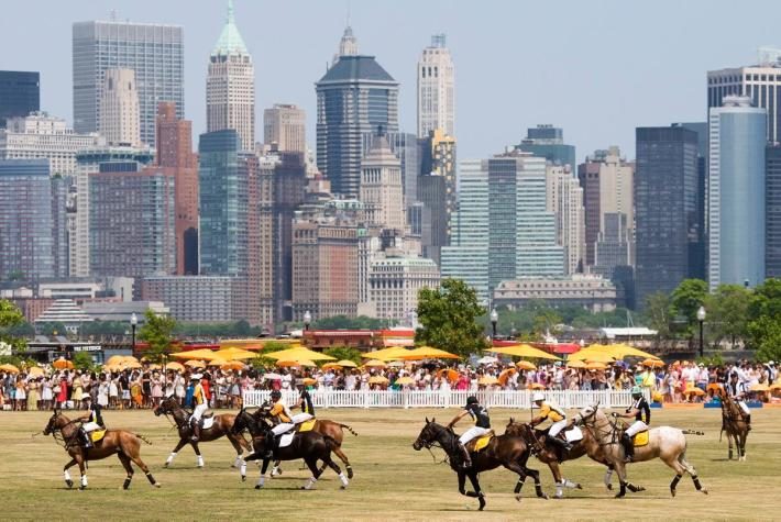 Eighth-Annual Veuve Clicquot Polo Classic at Liberty State Park