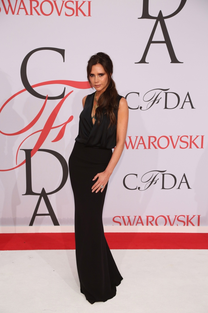 Victoria Beckham attends the 2015 CFDA Fashion Awards at Alice Tully Hall at Lincoln Center