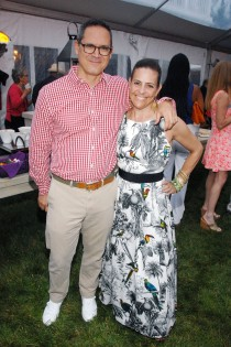 Jay Diamond, Alexandra Lebenthal attend  The Boys & Girls Club of Bellport's 12th Annual Beach Ball (Photo - Liam McMullan/PatrickMcMullan.com== ==