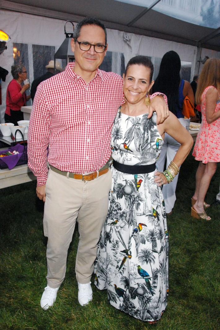 Jay Diamond, Alexandra Lebenthal attend The Boys & Girls Club of Bellport's 12th Annual Beach Ball (Photo - Liam McMullan)