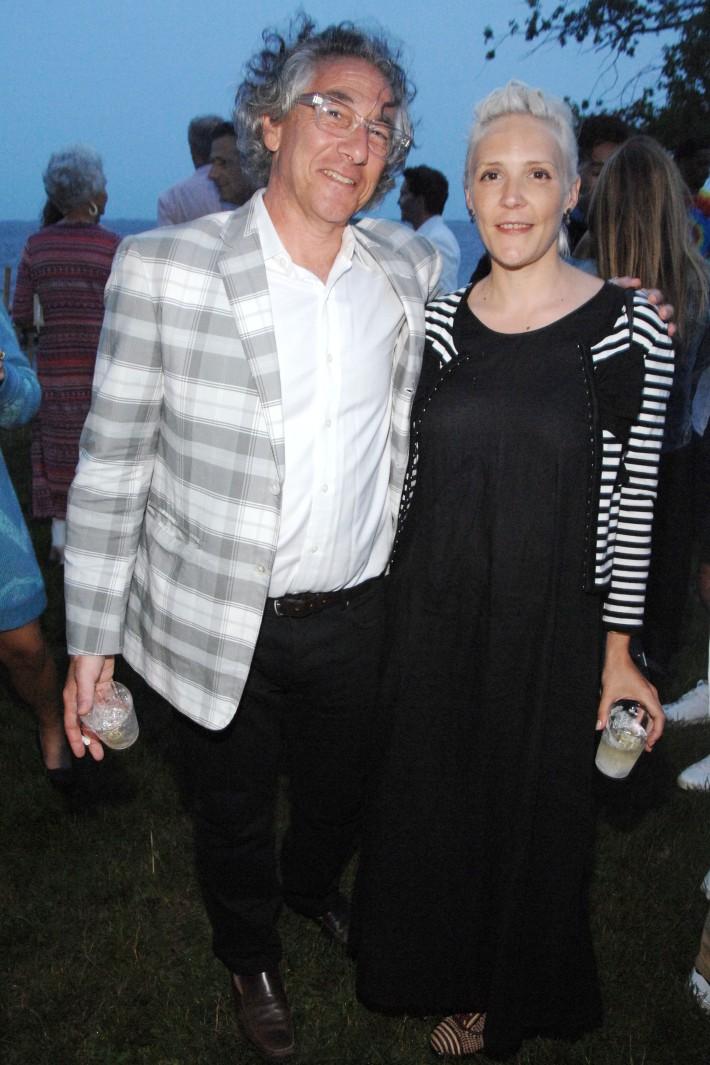 Ira Silverberg, Zoe Turnull attend The Boys & Girls Club of Bellport's 12th Annual Beach Ball (Photo - Liam McMullan)
