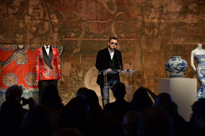 Exhibition Artistic Director and filmmaker Wong Kar Wai at China: Through the Looking Glass Exhibition at The Metropolitan Museum of Art