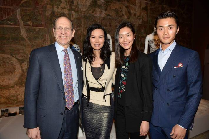 Maxwell K. Hearn, Wendi Murdoch, Liu Wen, Zhao Lei at China: Through the Looking Glass Exhibition at The Metropolitan Museum of Art