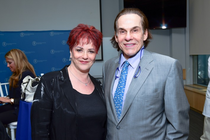 Judith Hellman M.D., R. Couri Hayattend The Live4Life Foundation Honored By Memorial Sloan Kettering (Photo by Sean Zanni)