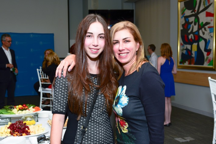Julia Barasch, Candy Barasch attends The Live4Life Foundation Honored By Memorial Sloan Kettering (Photo by Sean Zanni)