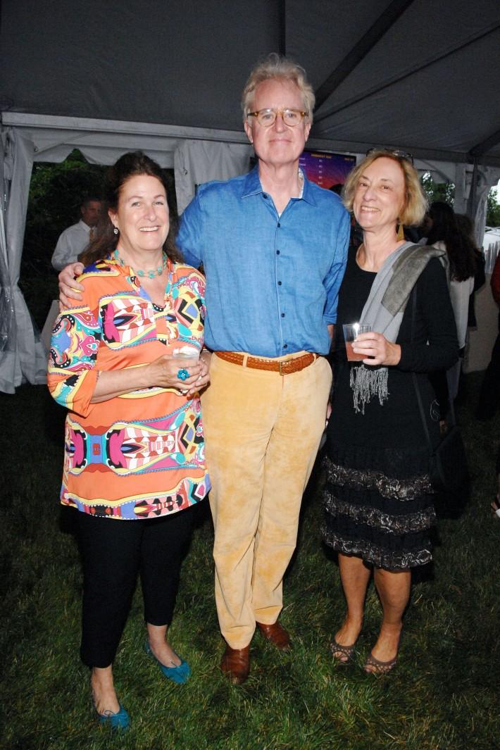 Libby Ryan, Timmy Ryan, Sue Hornik attend The Boys & Girls Club of Bellport's 12th Annual Beach Ball (Photo - Liam McMullan)