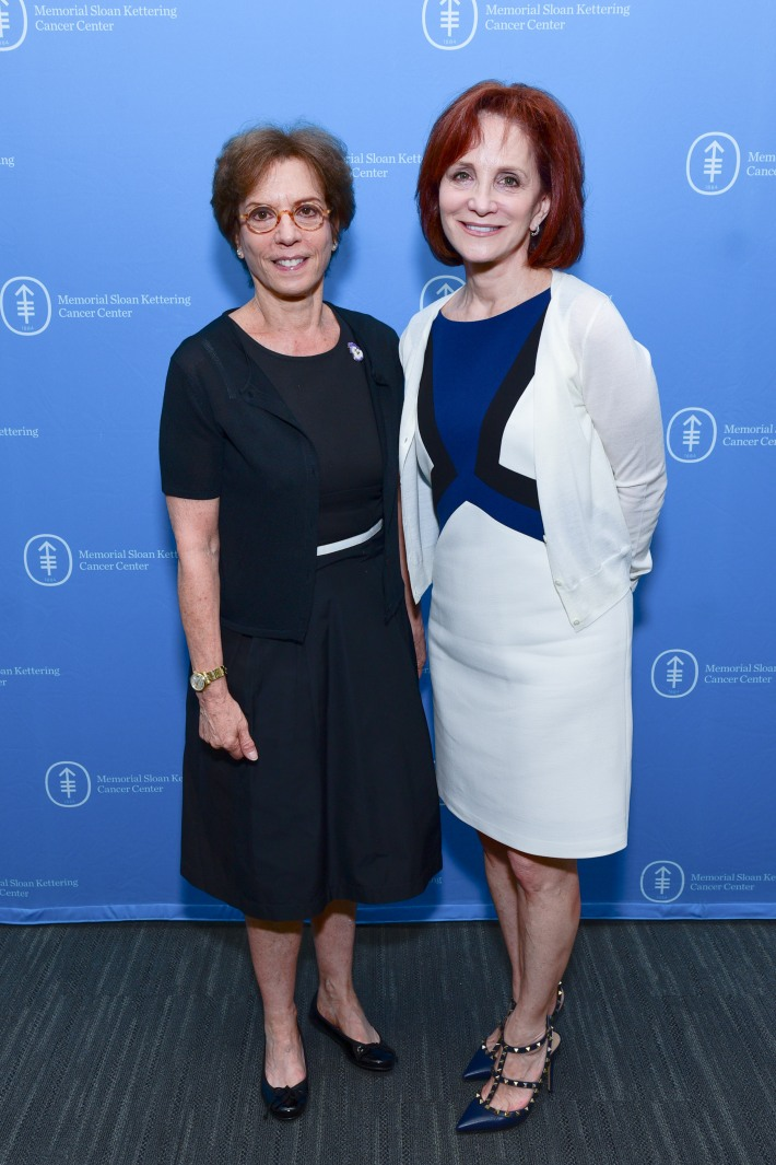 Terry Shargel, Sharon Quain attend The Live4Life Foundation Honored By Memorial Sloan Kettering (Photo by Sean Zanni)