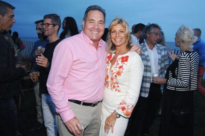 John DeStefano, Alexandra Beitel attend The Boys & Girls Club of Bellport's 12th Annual Beach Ball (Photo - Liam McMullan)