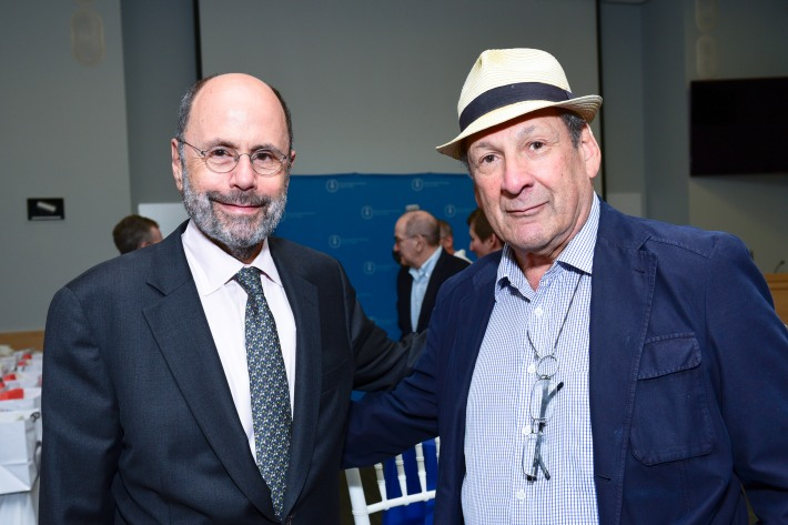 Jerry Shargel, Bernie Feinberg attend The Live4Life Foundation Honored By Memorial Sloan Kettering (Photo by Sean Zanni)