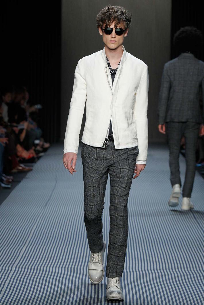 John Varvatos New York Fashion Week: Men's Spring/Summer 2016 at Skylight Clarkson Sq (Photo by GerardoSomoza)