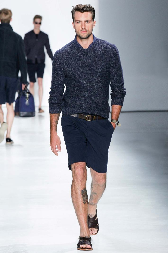 Todd Snyder New York Fashion Week: Men's Spring/Summer 2016 at Skylight Clarkson Sq (Photo by GerardoSomoza)