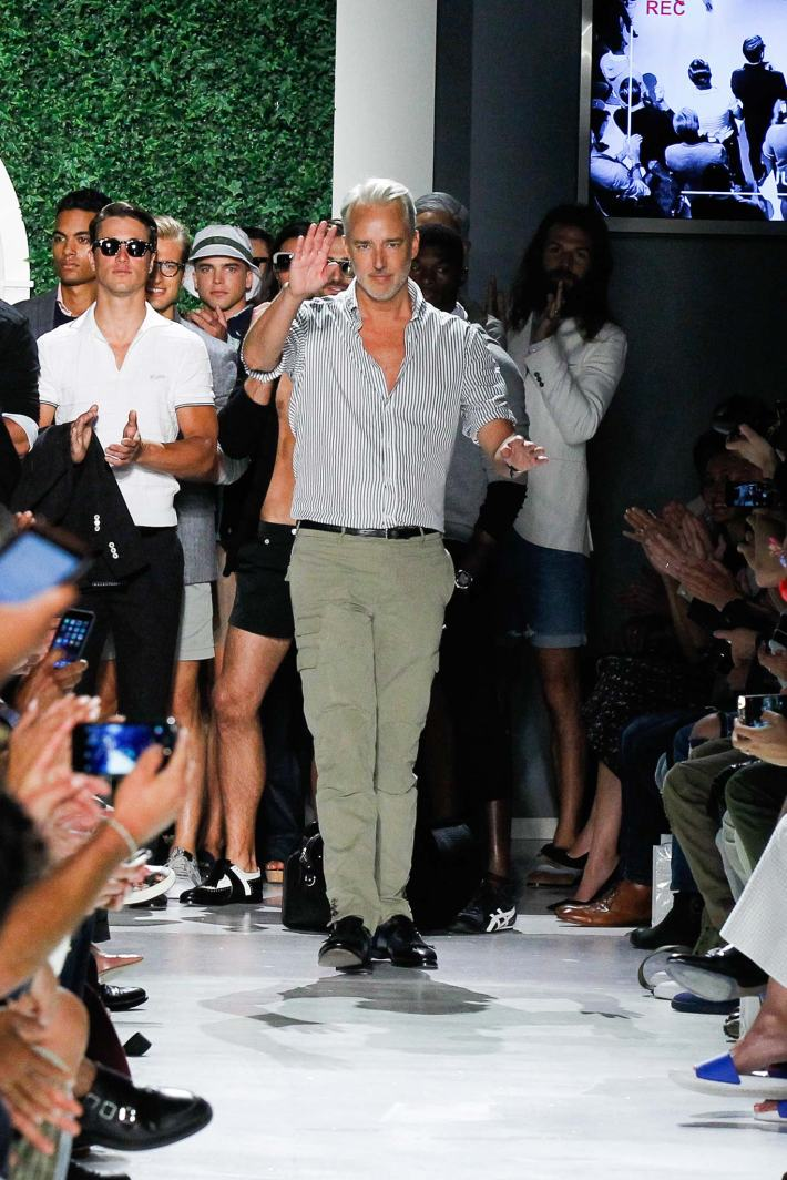 Michael Bastian New York Fashion Week: Men's Spring/Summer 2016 at Skylight Clarkson Sq (Photo by GerardoSomoza)