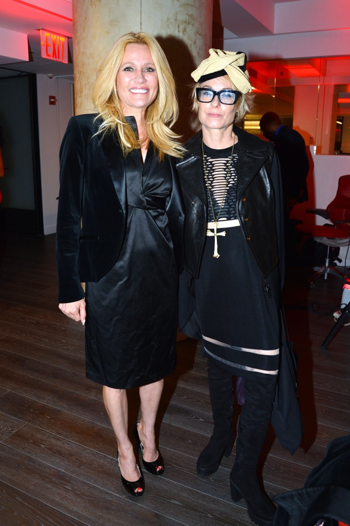 Leesa Rowland, Robin Cofer attend  Symrise New York Studio Opening Hosted by Kick Kennedy, Morgan O'Connor, and Consuelo Vanderbilt Costin (Photo by PatrickMcMullan)