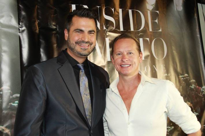 Carson Kressley attends 'Inside Amato' New York premiere at Liberty Theater