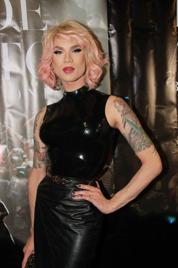 Miss Fame attends 'Inside Amato' New York premiere at Liberty Theater