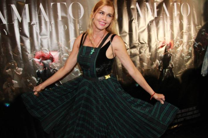 Debbie Dickinson attends 'Inside Amato' New York premiere at Liberty Theater