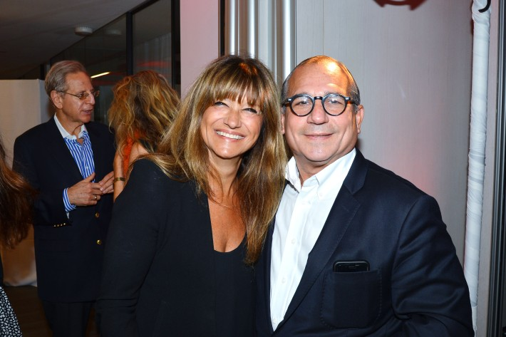 Pamela Vail, George Ledes attend  Symrise New York Studio Opening Hosted by Kick Kennedy, Morgan O'Connor, and Consuelo Vanderbilt Costin (Photo by PatrickMcMullan)