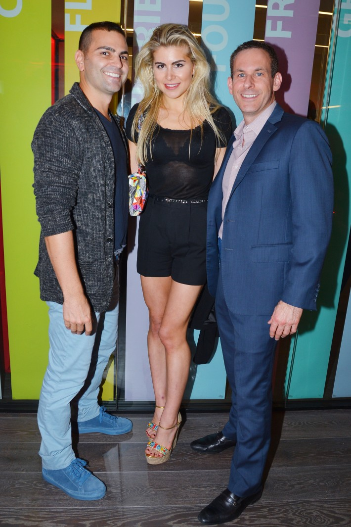 Anthony Taccetta, Anastasia Garvey, Dr. Kenneth Mark attend  Symrise New York Studio Opening Hosted by Kick Kennedy, Morgan O'Connor, and Consuelo Vanderbilt Costin (Photo by PatrickMcMullan)
