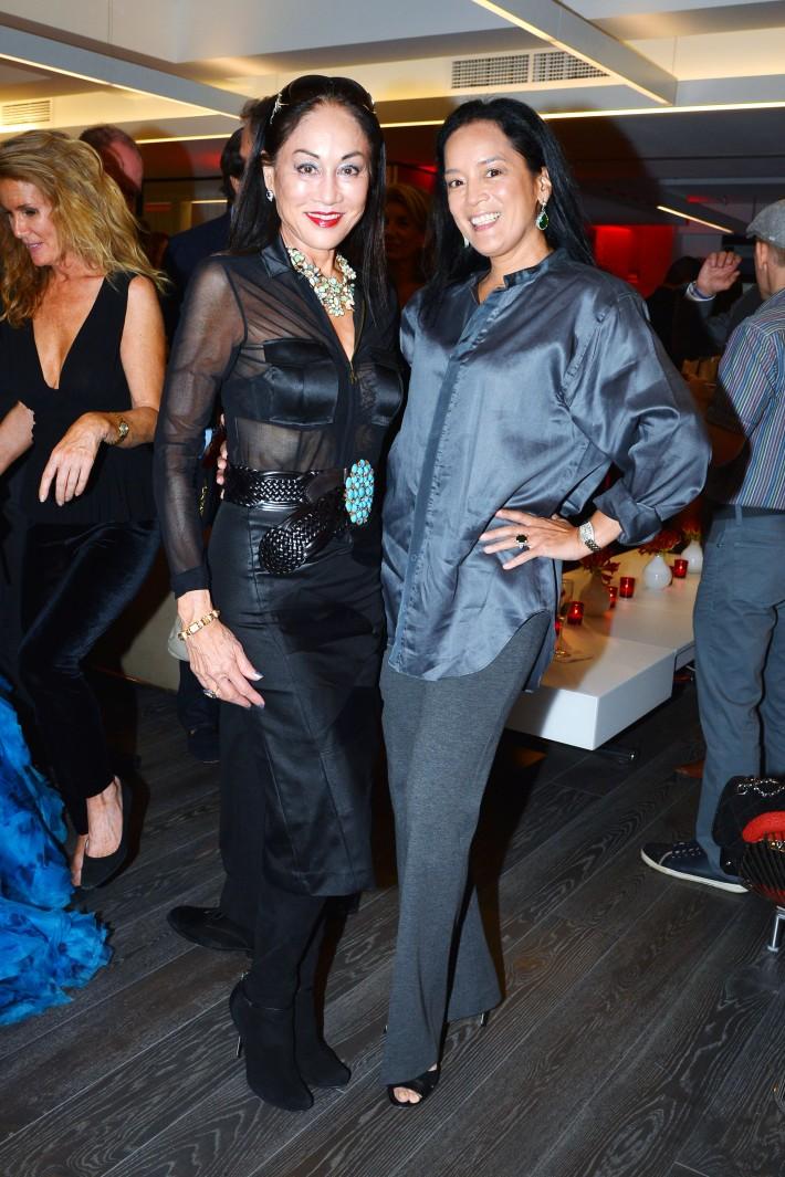 Lucia Hwong Gordon, Cassandra Seidenfeld attend  Symrise New York Studio Opening Hosted by Kick Kennedy, Morgan O'Connor, and Consuelo Vanderbilt Costin (Photo by PatrickMcMullan)