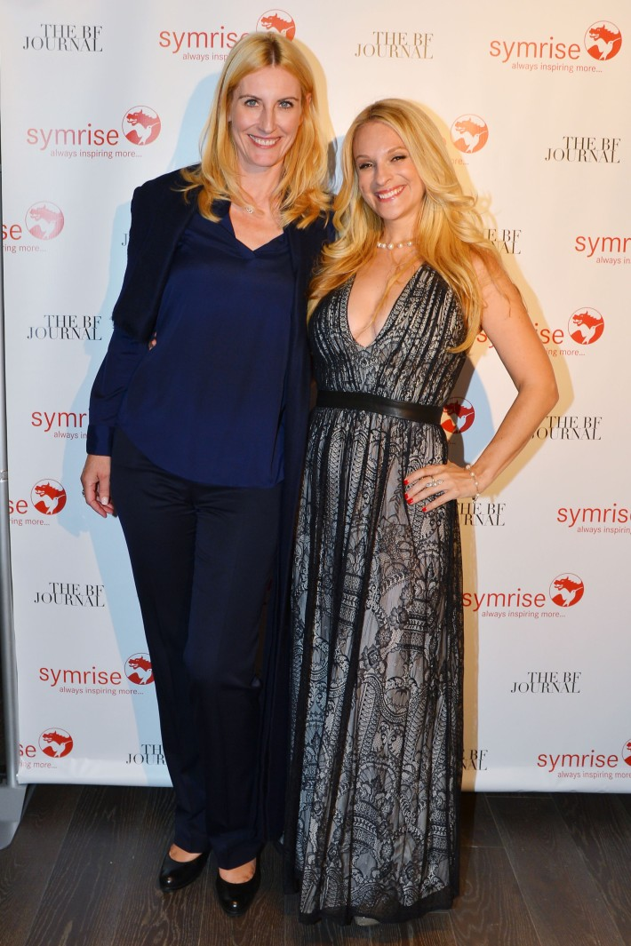 Beatrice Mouleyre, Consuelo Vanderbilt Costin attend  Symrise New York Studio Opening Hosted by Kick Kennedy, Morgan O'Connor, and Consuelo Vanderbilt Costin (Photo by PatrickMcMullan)