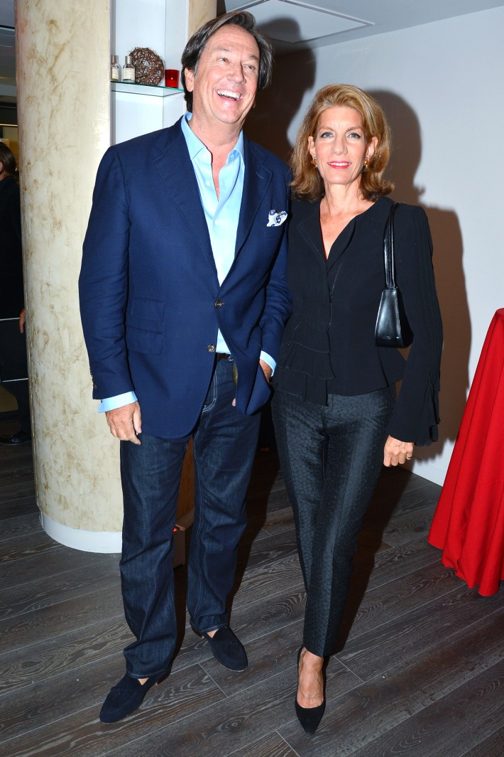Tom Shaffer, Louise Masano attend  Symrise New York Studio Opening Hosted by Kick Kennedy, Morgan O'Connor, and Consuelo Vanderbilt Costin (Photo by PatrickMcMullan)