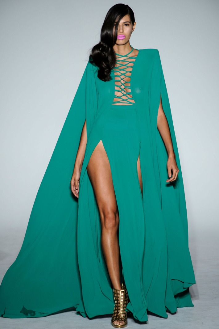 Michael Costello Spring/Summer 2016 New York Fashion Week (Photo by AndreaAdriani)