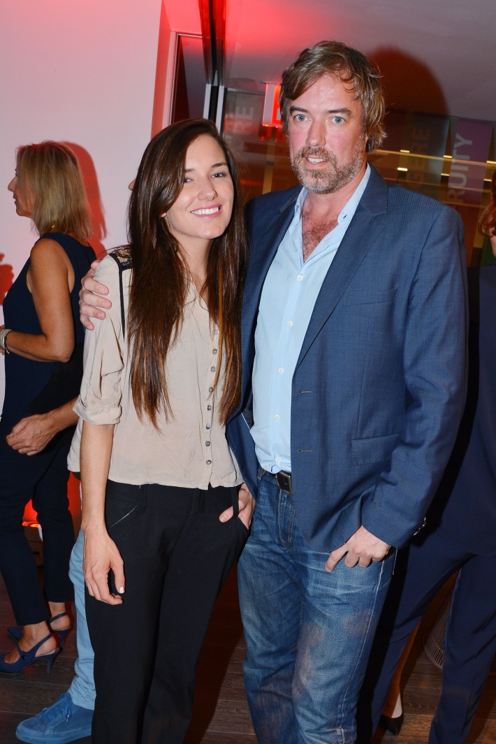 Kick Kennedy, David Goodwillie attend  Symrise New York Studio Opening Hosted by Kick Kennedy, Morgan O'Connor, and Consuelo Vanderbilt Costin (Photo by PatrickMcMullan)