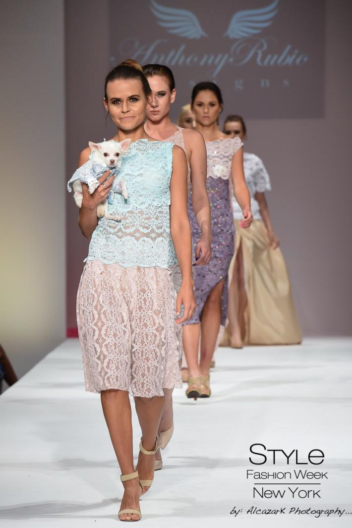 Anthony Rubio Spring/Summer 2016 - New York Fashion Week (Photo by Ken Alcazar)