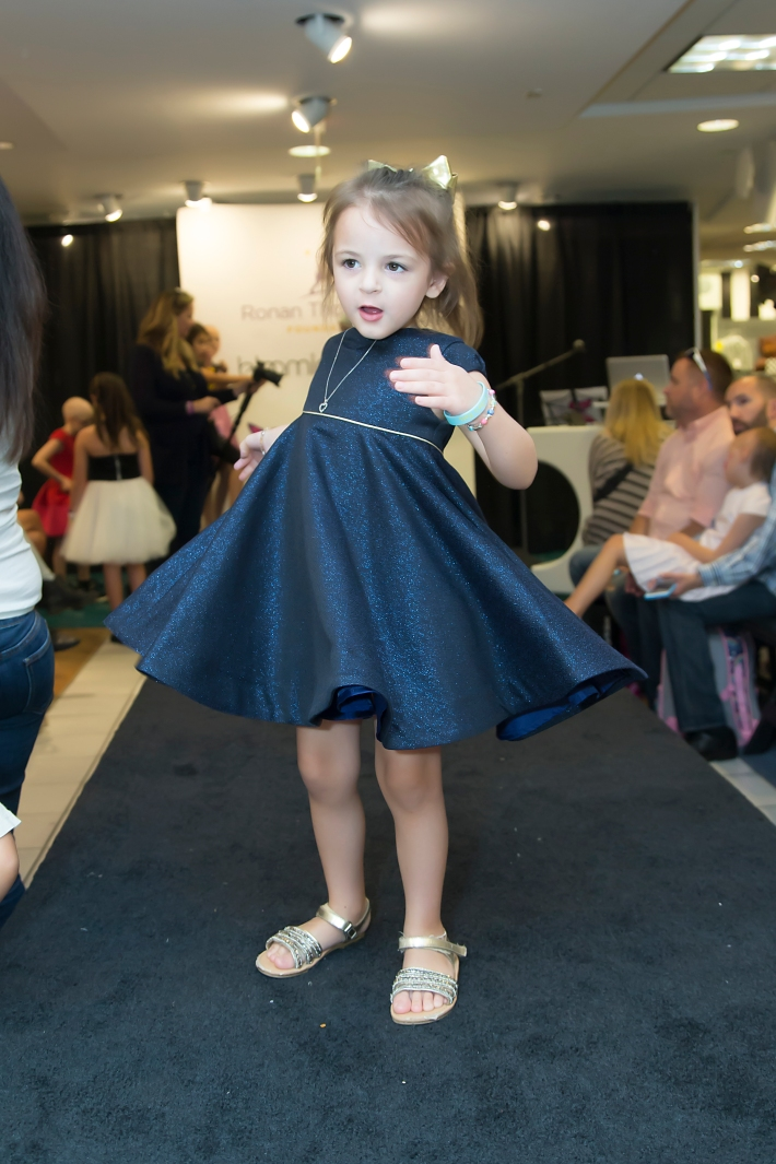 Delaney Kurdyla attends RUNWAY HEROES Fashion Show Hosted by Bloomingdale's 59th Street featuring Childhood Cancer Fighters & Survivors