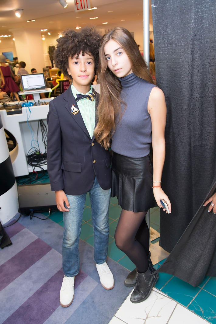 DJ Fulano, Celia Babini attend RUNWAY HEROES Fashion Show Hosted by Bloomingdale's 59th Street featuring Childhood Cancer Fighters & Survivors